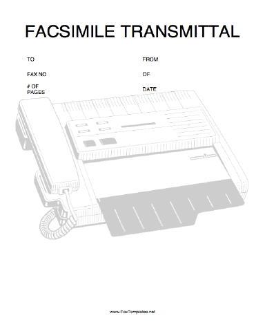 fax transmittal forms